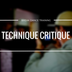 How To Break Dance Technique Critique | Darren R. Wong