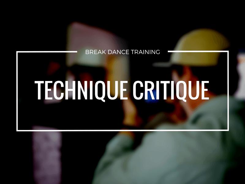 How To Break Dance Technique Critique | Darren R. Wong