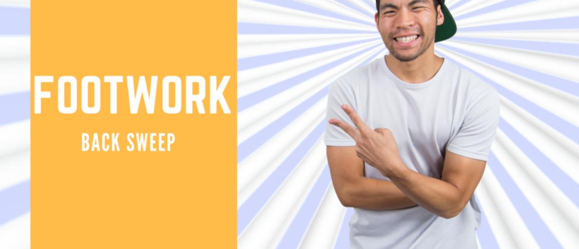 [ Break Dance Tutorial ] How To Breakdance: Footwork - Sweep Combo