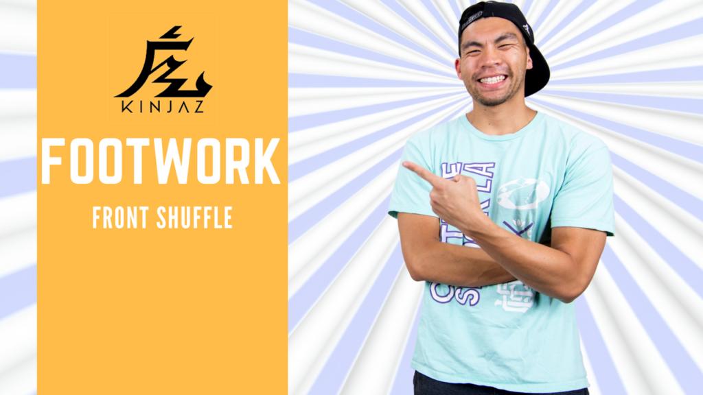 [Break Dance Tutorial] How To Breakdance: Footwork - Front Shuffle