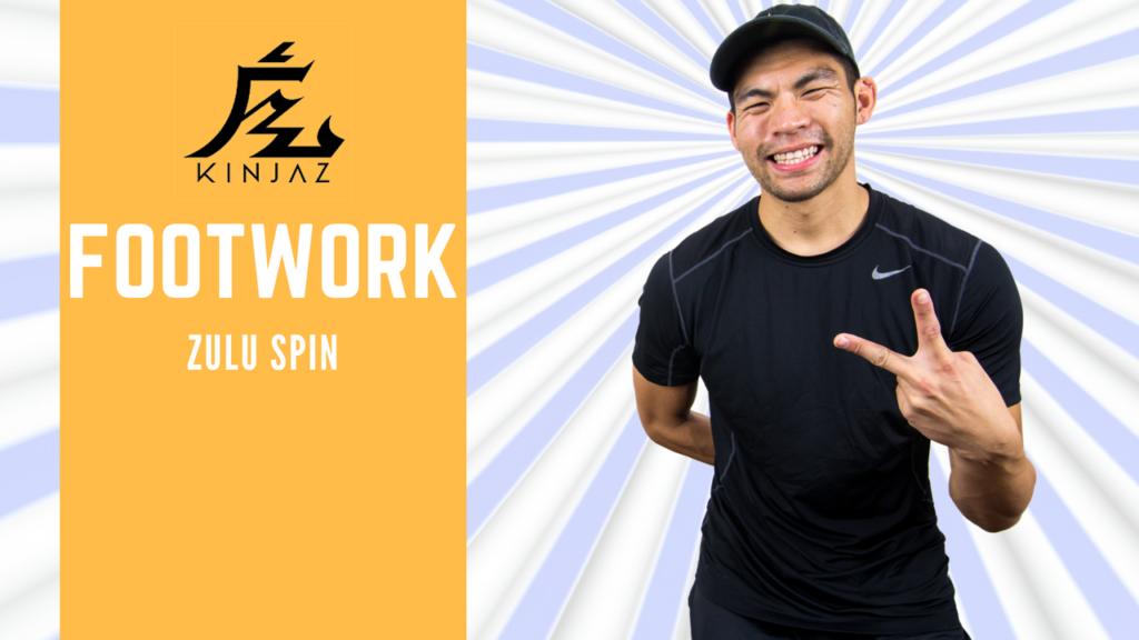 [Break Dance Tutorial] How To Breakdance: Footwork - Zulu Spin