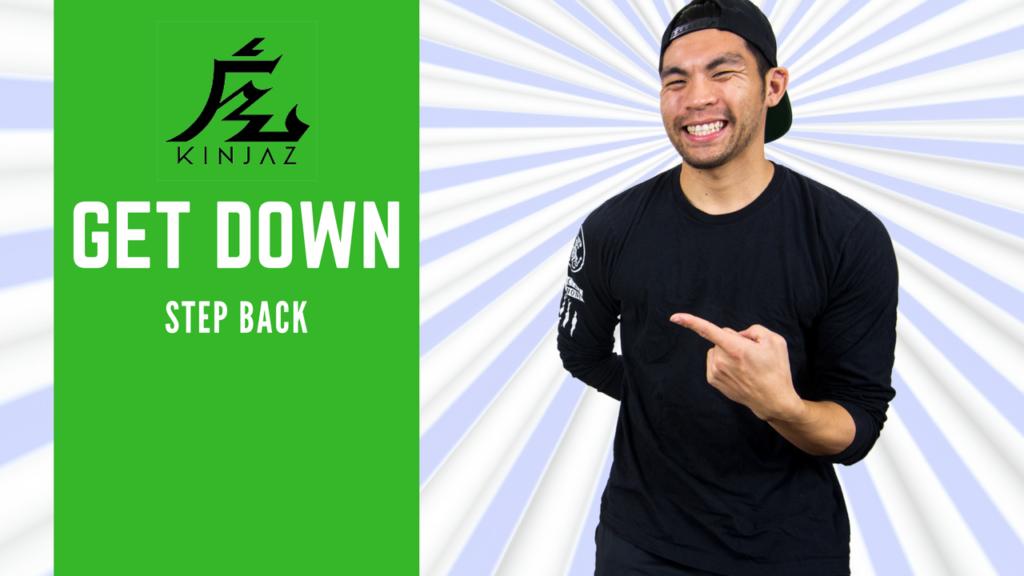 [Break Dance Tutorial] How To Breakdance: Get Down - Step Back