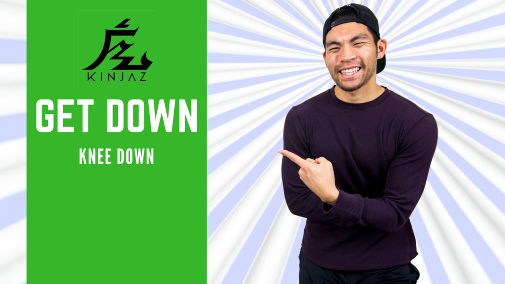 [Break Dance Tutorial] How To Breakdance: Get Down - Knee Down