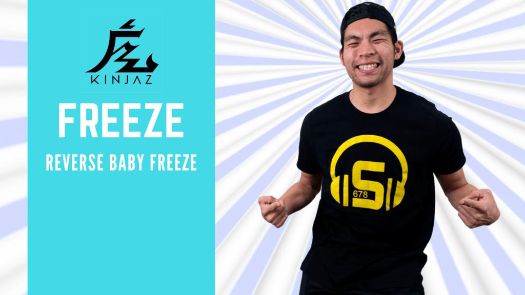 [Break Dance Tutorial] How To Breakdance: Freeze - Reverse Baby Freeze